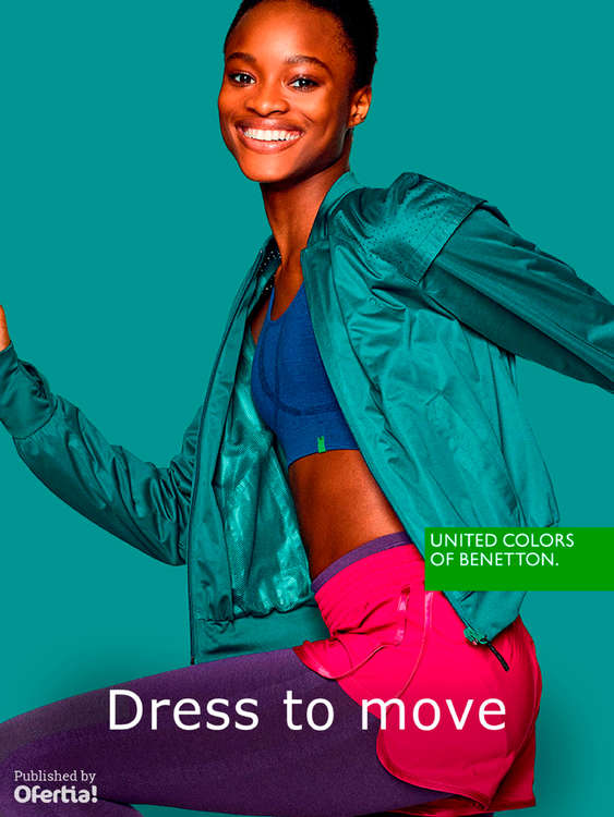 Ofertas de United Colors Of Benetton, Dress to move