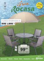 Ofertas de Rocasa, ¡Nuevas tendencias al aire libre!