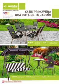 Disfruta de tu jardín