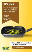 Ofertas de IKEA, Con todo el poder antiadherente de Teflon Select