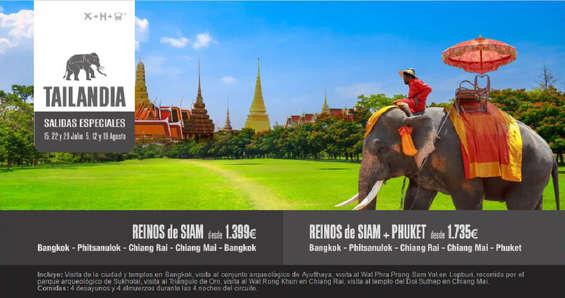 Ofertas de Halcón Viajes, Tailandia de Ensueño