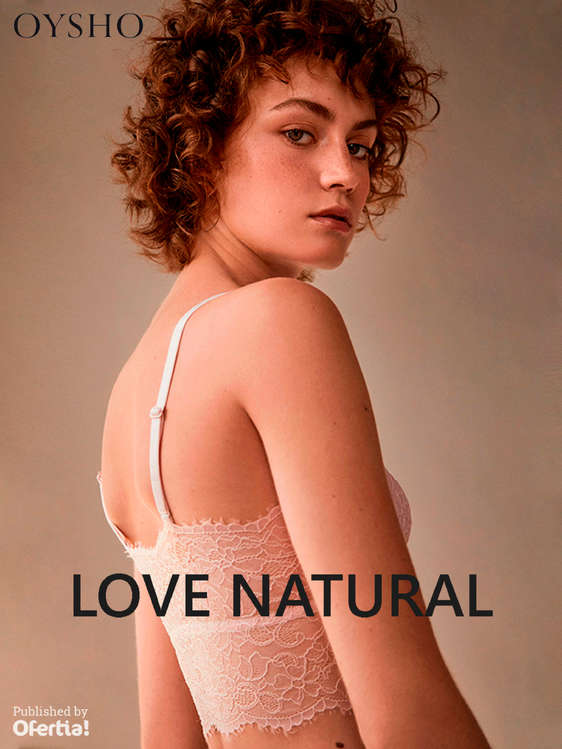 Ofertas de Oysho, Love Natural