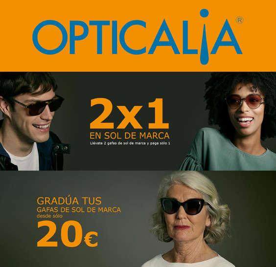 Ofertas de Opticalia, 2x1