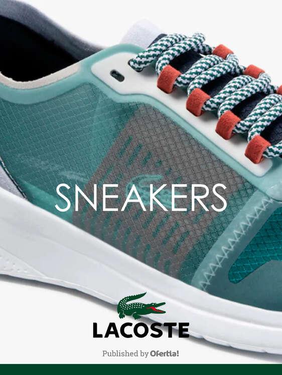 Ofertas de Lacoste, Sneakers