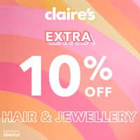 10% off extra