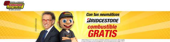 Ofertas de Confort Auto, Con tus neumáticos Bridgestone
