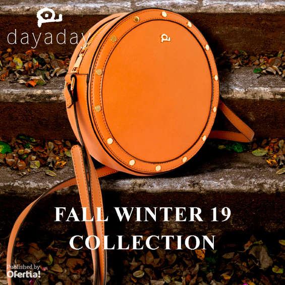 Ofertas de Dayaday, Fall Winter 19 Collection