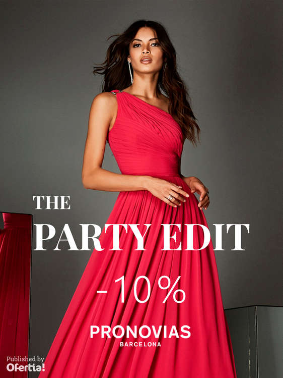 Ofertas de Pronovias, The Party Edit -10%