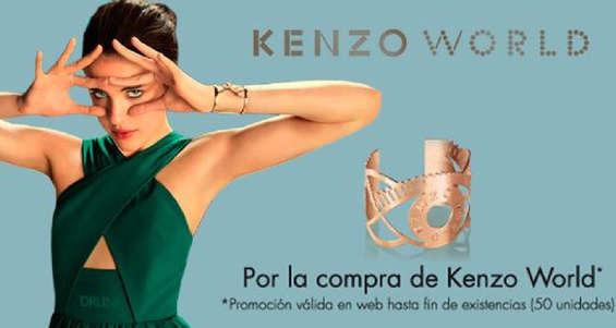 Ofertas de Druni, Pulsera de regalo por la compra de Kenzo World