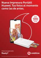 Ofertas de Vodafone, Nueva impresora portátil Huawei. Tus fotos al momento cómo las de antes