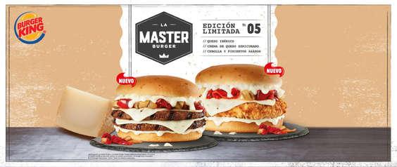 Ofertas de Burger King, La master burger