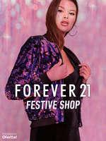 Ofertas de Forever 21, Festive Shop