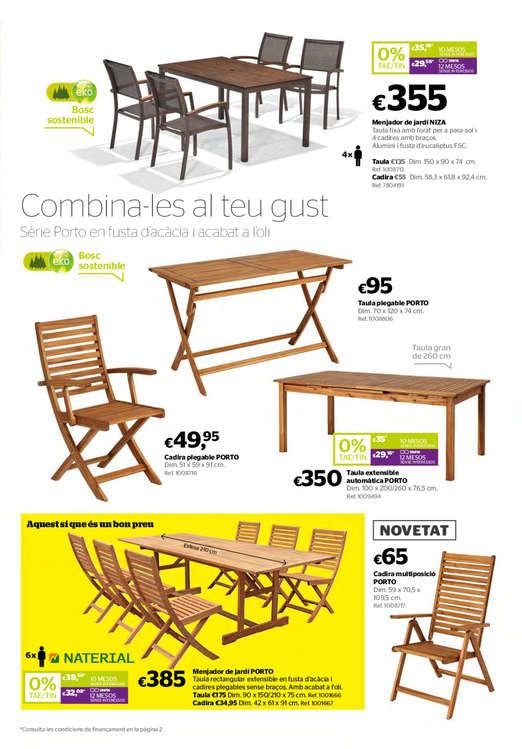 Ofertas en mesas y sillas best mesa sillas americanas - Eroski sillas terraza ...