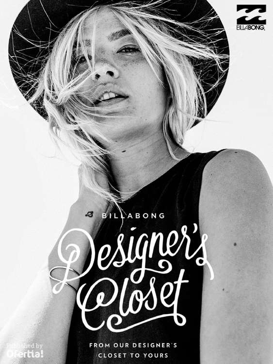 Ofertas de Billabong, Designer's Closet