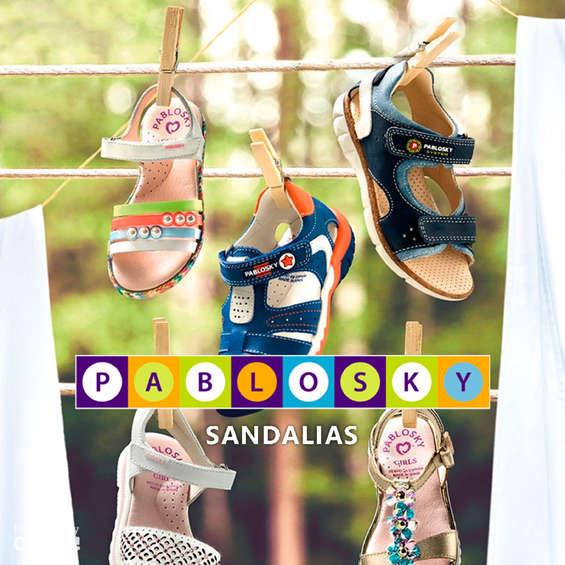 Ofertas de Pablosky, Sandalias