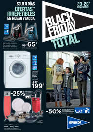 Black Friday. Ofertas irrepetibles en hogar y moda