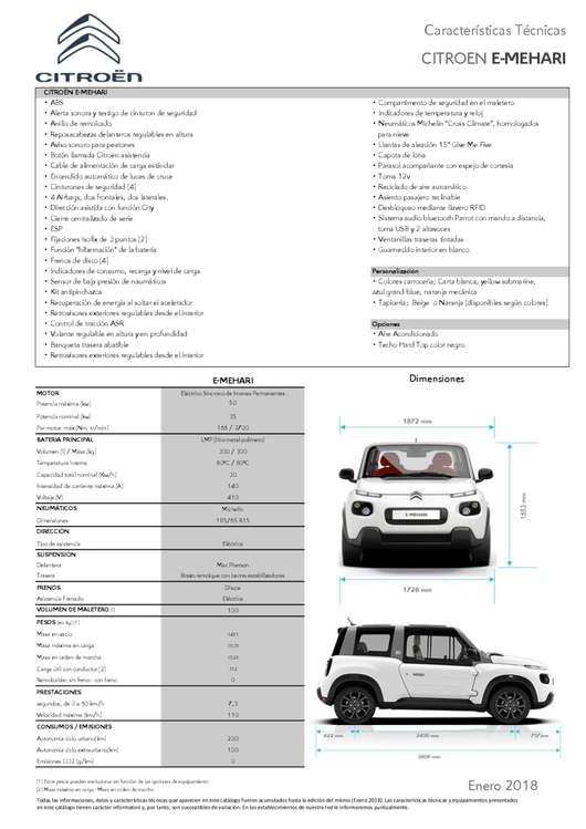 Ofertas de Citroën, Citröen E-Mehari