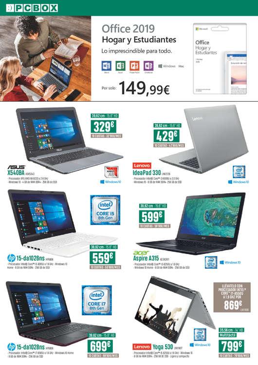 Ofertas de PC Box, Expert's center
