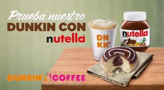 Ofertas de Dunkin Coffee, Nuevo en Dunkin' Coffee