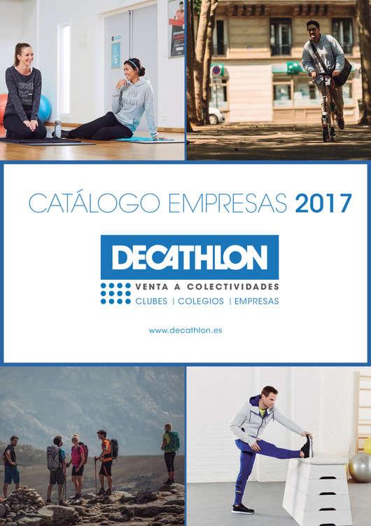 Ofertas de Decathlon, Catálogo empresas 2017