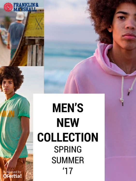 Ofertas de Franklin & Marshall, Men's New Collection