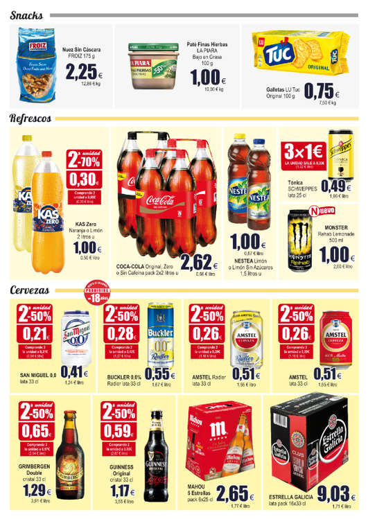 Comprar kas naranja barato en fuenlabrada ofertia - Supermercados fuenlabrada ...