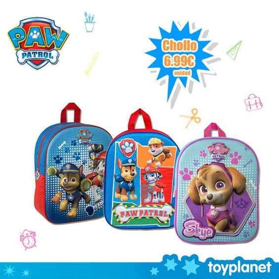 Ofertas de Toy Planet, Mochila