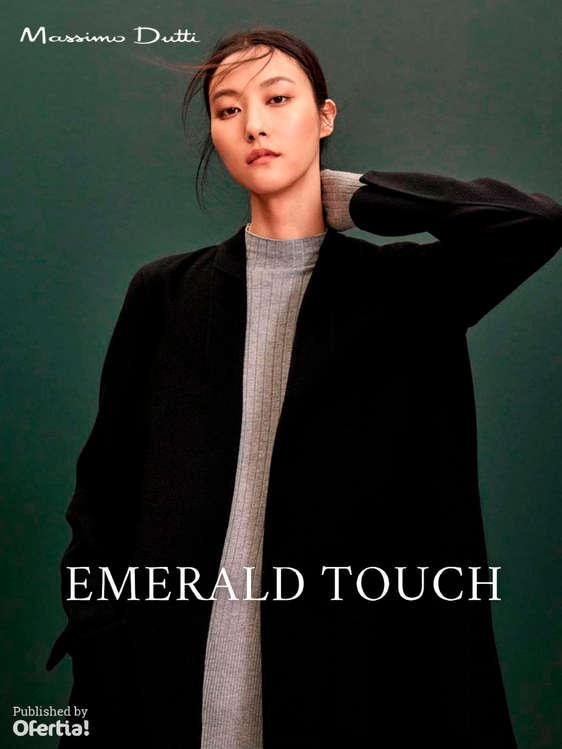 Ofertas de Massimo Dutti, Emerald Touch