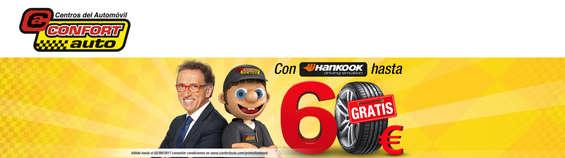 Ofertas de Confort Auto, Con Hankook hasta 60€ gratis