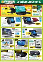 Ofertas de PC Box, Ofertas agosto