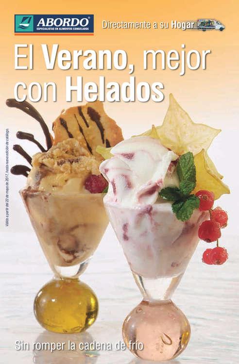 Ofertas de Abordo, El verano, mejor con helados