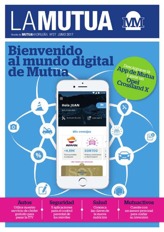 Ofertas de Mutua Madrileña, Bienvenido al mundo digital de Mutua