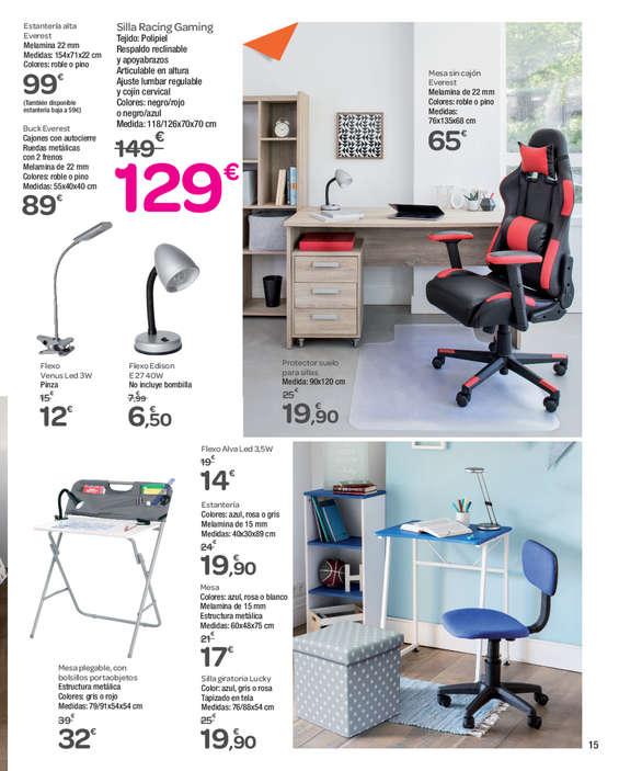 Comprar sillas de oficina barato en vitoria gasteiz ofertia for Ofertas de sillas de oficina en carrefour