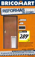 Ofertas de Bricomart, Reformas de otoño - Massanassa