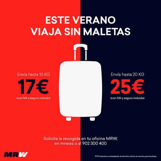 Ofertas de MRW, Este verano viaja sin maletas