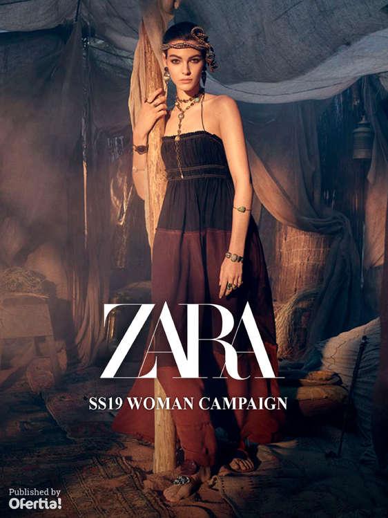 Ofertas de ZARA, SS19 Woman Campaign