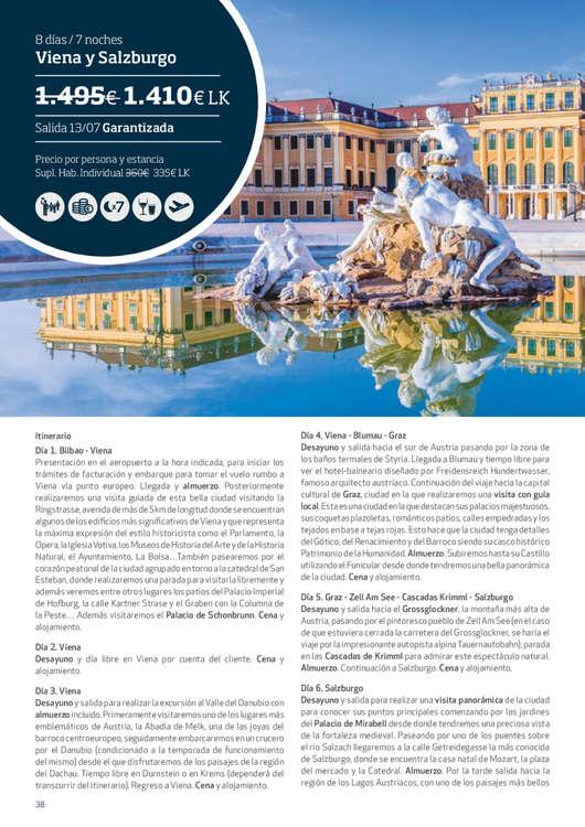 Ofertas de Eroski Viajes, Viajes Súper LK