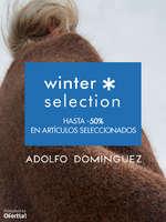 Ofertas de Adolfo Domínguez, Winter Selection. Hasta -50% en artículos seleccionados