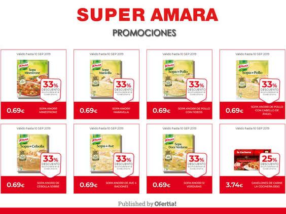 Ofertas de Super Amara, Promos super amara