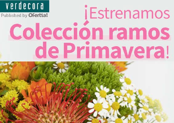 Ofertas de Verdecora, Colección ramos de primavera