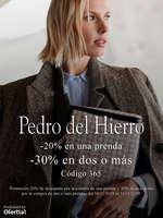 Ofertas de Pedro del Hierro, -20% en una prenda y -30% en dos o más