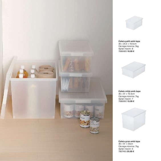 Comprar cajas con tapa barato en madrid ofertia - Cajas ordenacion ikea ...