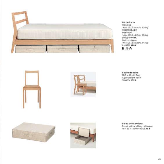 Comprar cama madera barato en madrid ofertia for Donde comprar muebles en madrid
