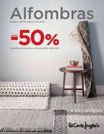 Ofertas de El Corte Inglés, Alfombras -50%