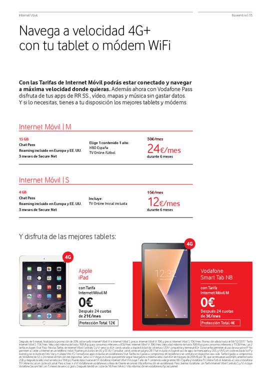 Ofertas de Vodafone, Noviembre - Piensa en tu nuevo Huawei Mate 10, piensa en Vodafone