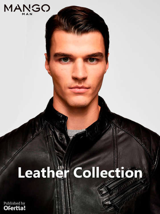 Ofertas de Mango Man, Leather Collection