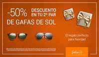 50% de descuento en tu segundo par de gafas de sol