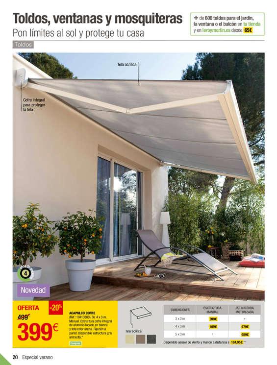 Leroy merlin toldos vela elegant latest toldo vela ikea - Toldos terraza baratos ...