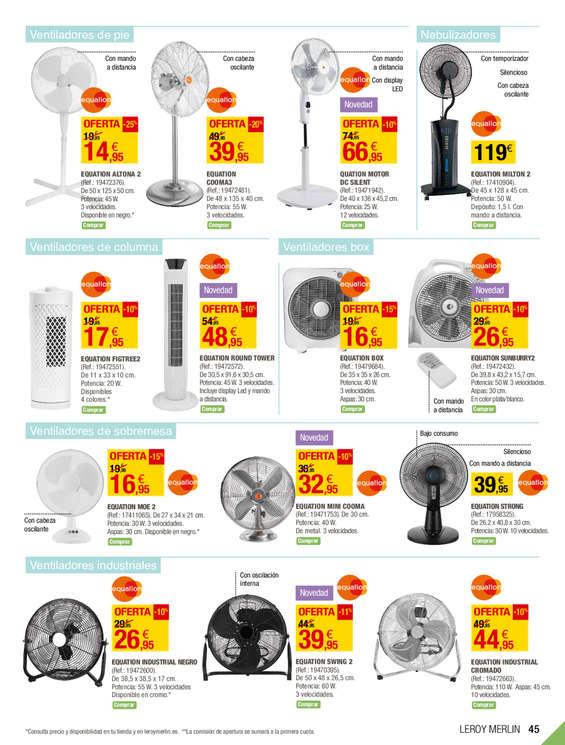 Comprar ventilador de pie barato en crevillent ofertia - Ventilador techo carrefour ...