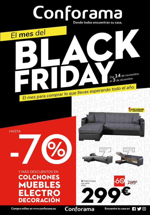 Ofertas de Conforama, Black Friday